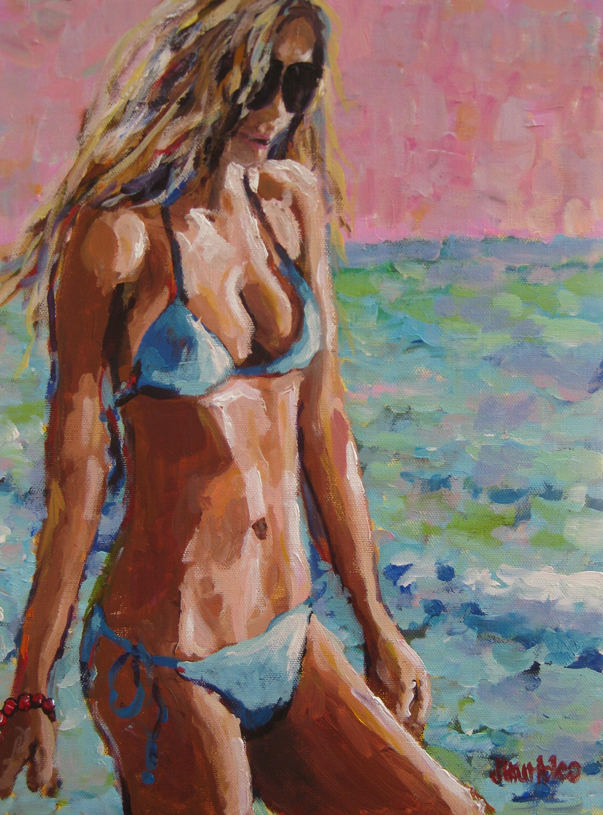 Bikini Girl 12x16