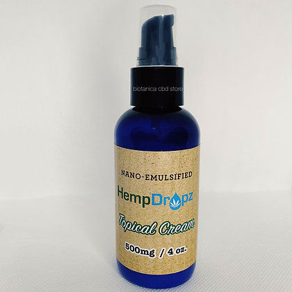 Nano Topical Cream Pump