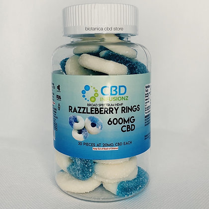 CBD Infusionz Razzleberry Rings