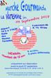 Marche Gourmande : le Dimanche 9 Septembre 2018 à La Varenne.