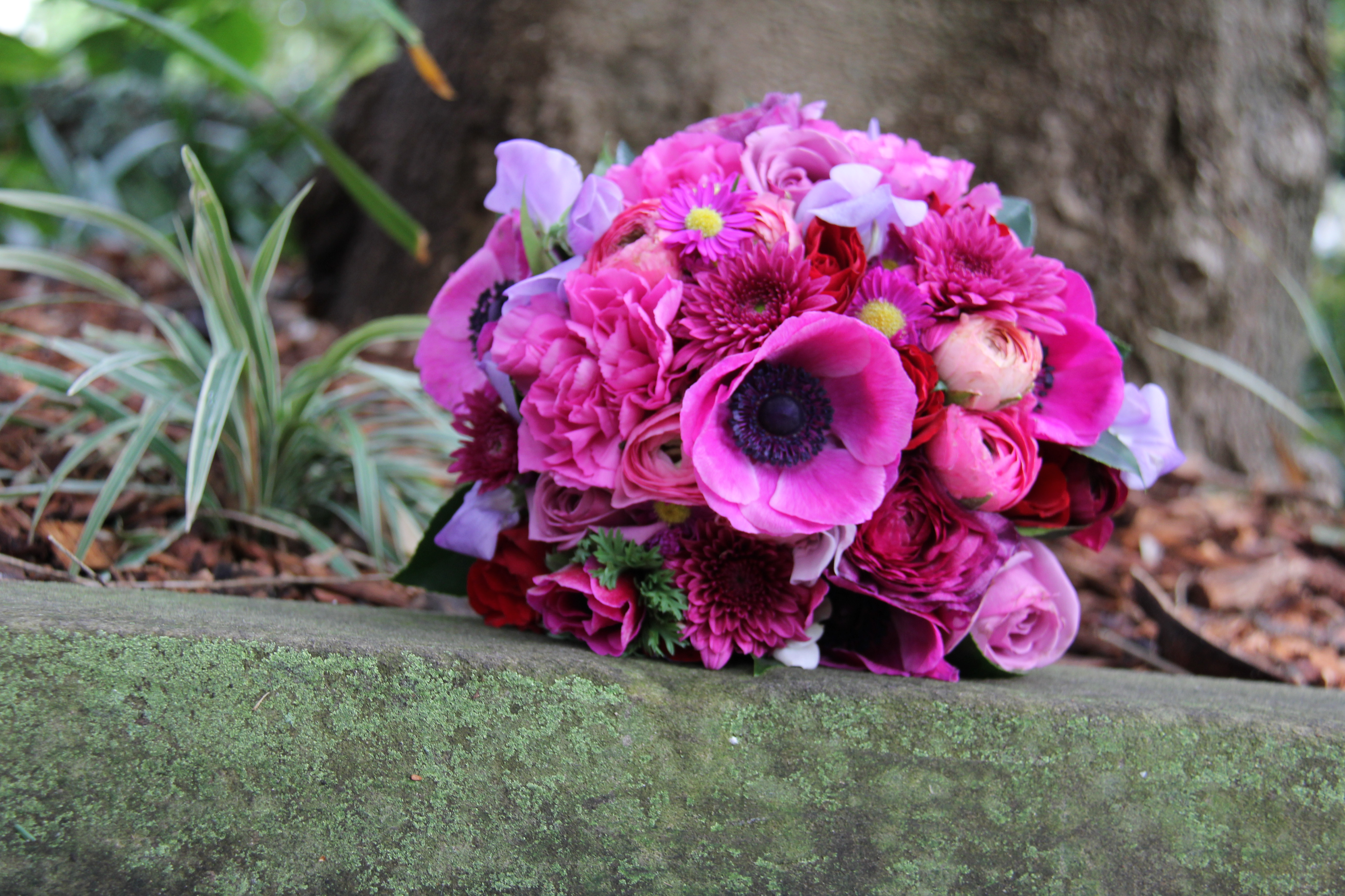 spring posy in pinks
