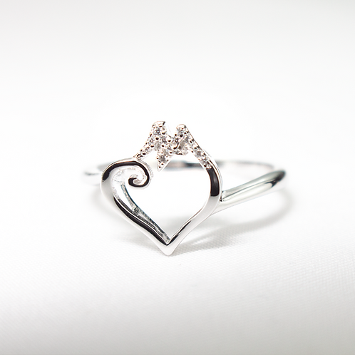 Bridge to Her Heart Ring