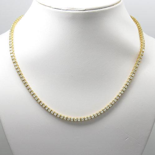 14.50ct Diamond Riviera Necklace