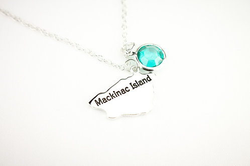 Stainless Steel Mackinac Island Pendant