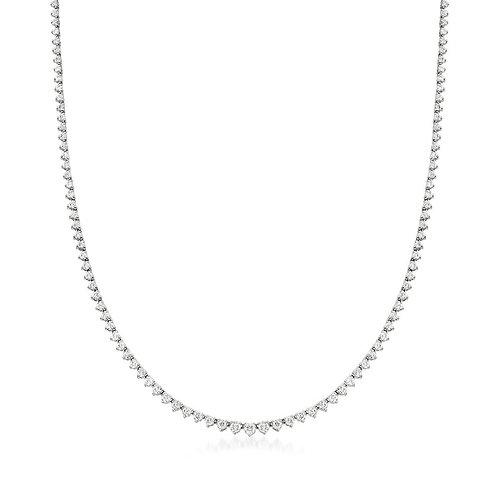 5ct Diamond Tennis Necklace