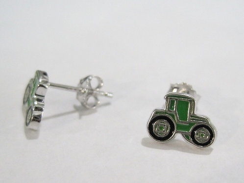 Tractor  Post Style Earrings