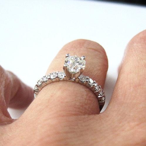14kt White Gold Starstruck Diamond Ring