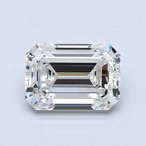 1ct( .92)  Natural Emerald Cut Diamond