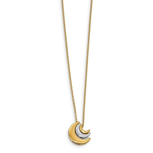 14kt Moon Phase Necklace
