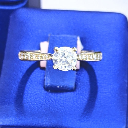 14kt Yellow Gold 1.15ct TW