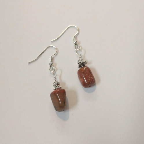 Puddingstone Earrings