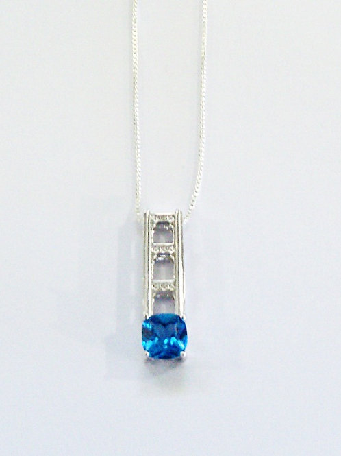 SMALL Mackinac Bridge  Tower Pendant