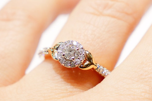 14kt Yellow Gold Mermaid Ring