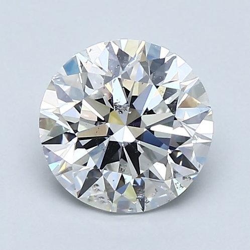 1.70ct  Natural Round Brilliant Cut Diamond
