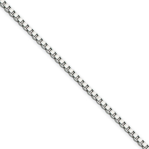 1.5mm Stainless Box Chain