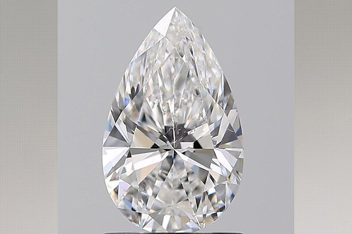 1.02ct  Natural Pear Cut Diamond