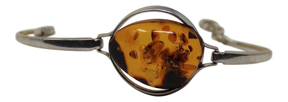 "Baltic Amber Bracelet ""Simplicity"""