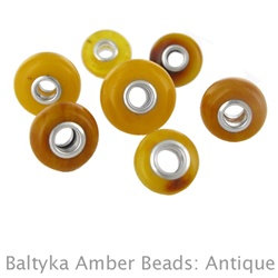 Amber Bead: Baltyka in Antique Color