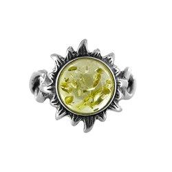 Amber Ring: Helios Lemon Sunflower
