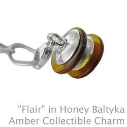 "Amber: Collectible Charm ""Flair"""