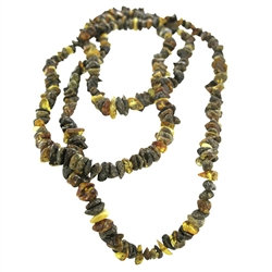 "Amber: Bead Necklace 50"" Strand"