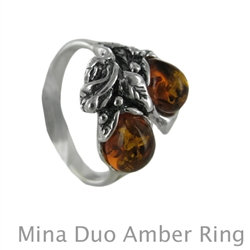 Amber Ring : Mina Duo