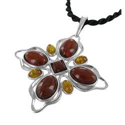 Cherry Amber Artisan Pendant
