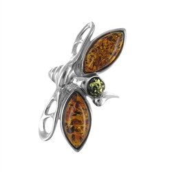 Amber Ring: The Dragonfly
