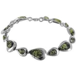 Amber Bracelet: Green Noir