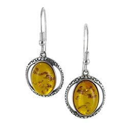 Amber Solstice Earrings