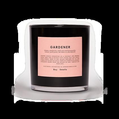 gardener. x boy smells