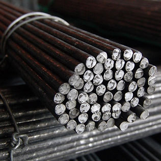 Hot rolled round bars 42CrMo4