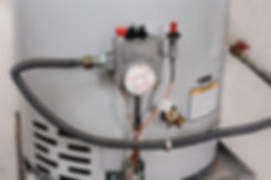 Water temperature controls on a hot wate