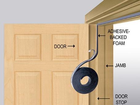 Fall Home Maintenance Task #4: Weatherstripping