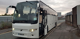 volvo 970 coach hire