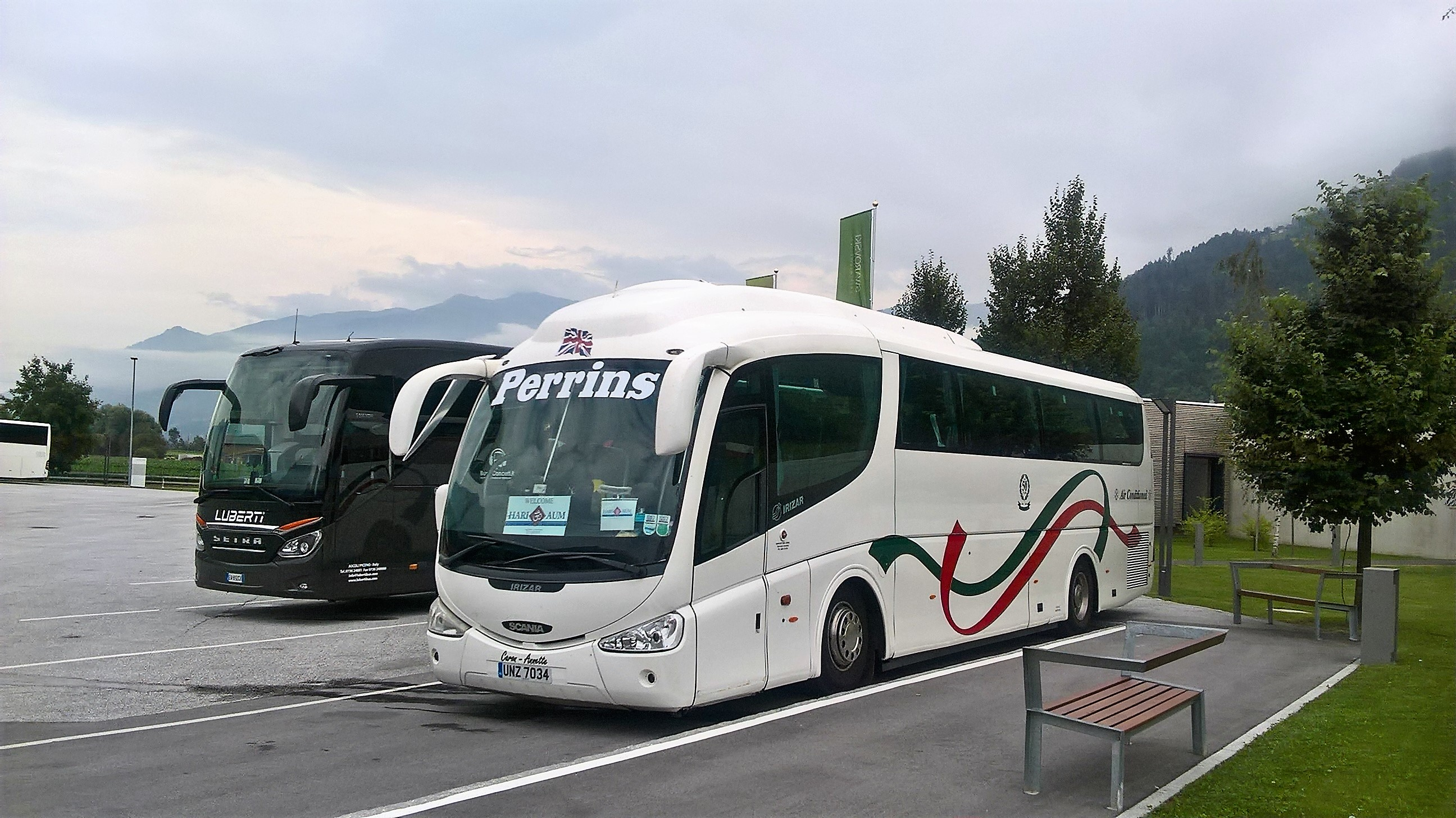 coach hire ski tour europe