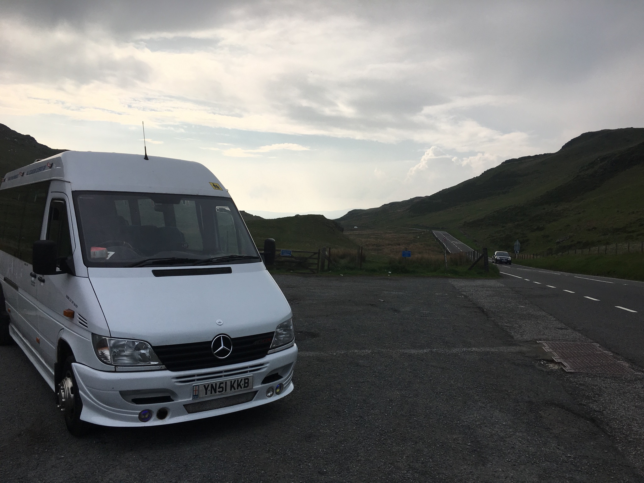 minibus hire to snowdon from walsall