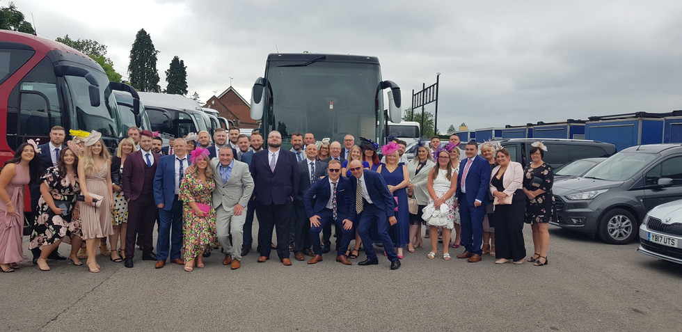 3. Coach hire from Wednesbury to Ascot Races