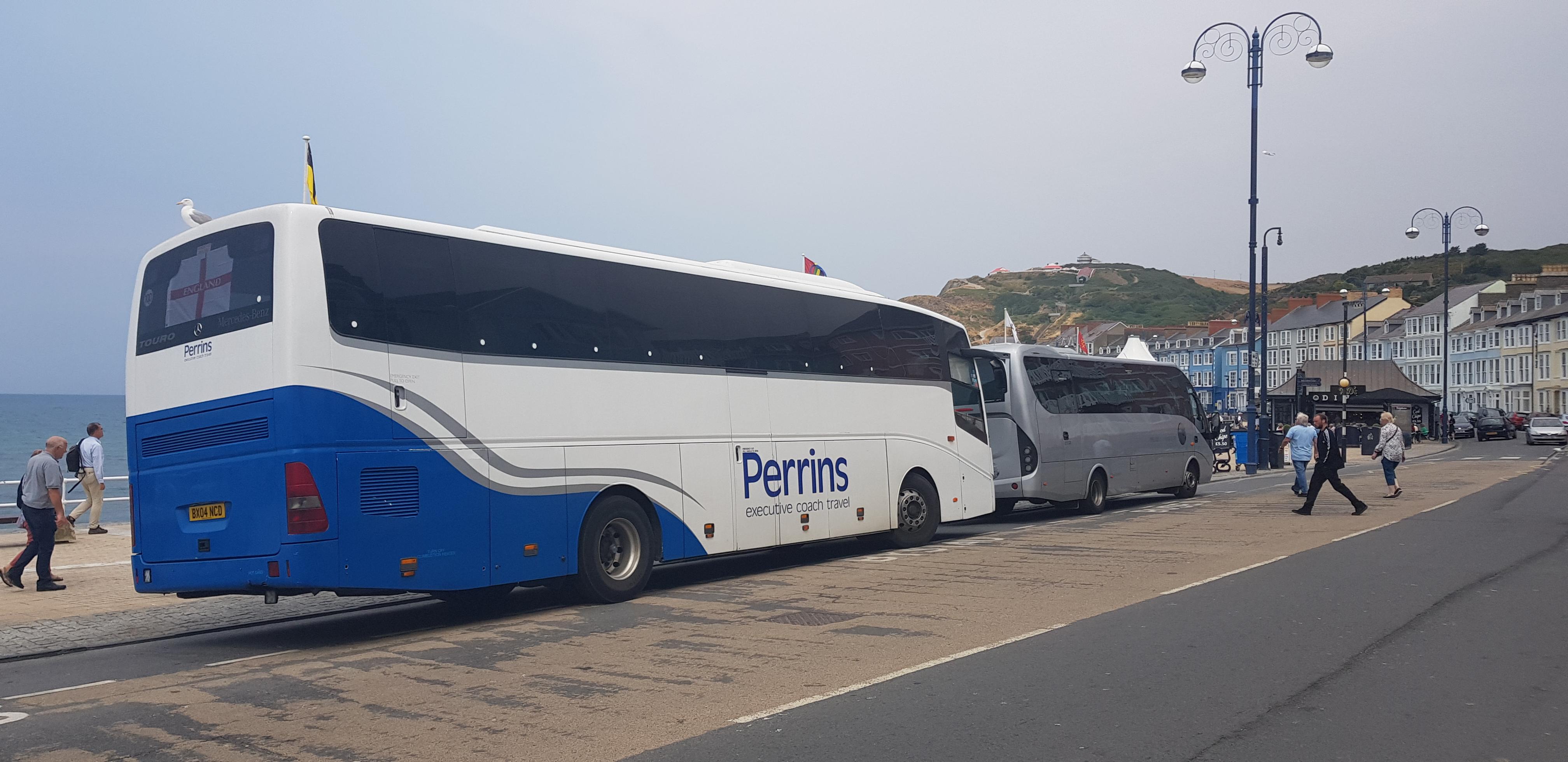 midland coach hire in aberystwyth