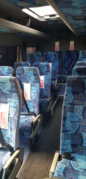 Minibus hire comfy seating