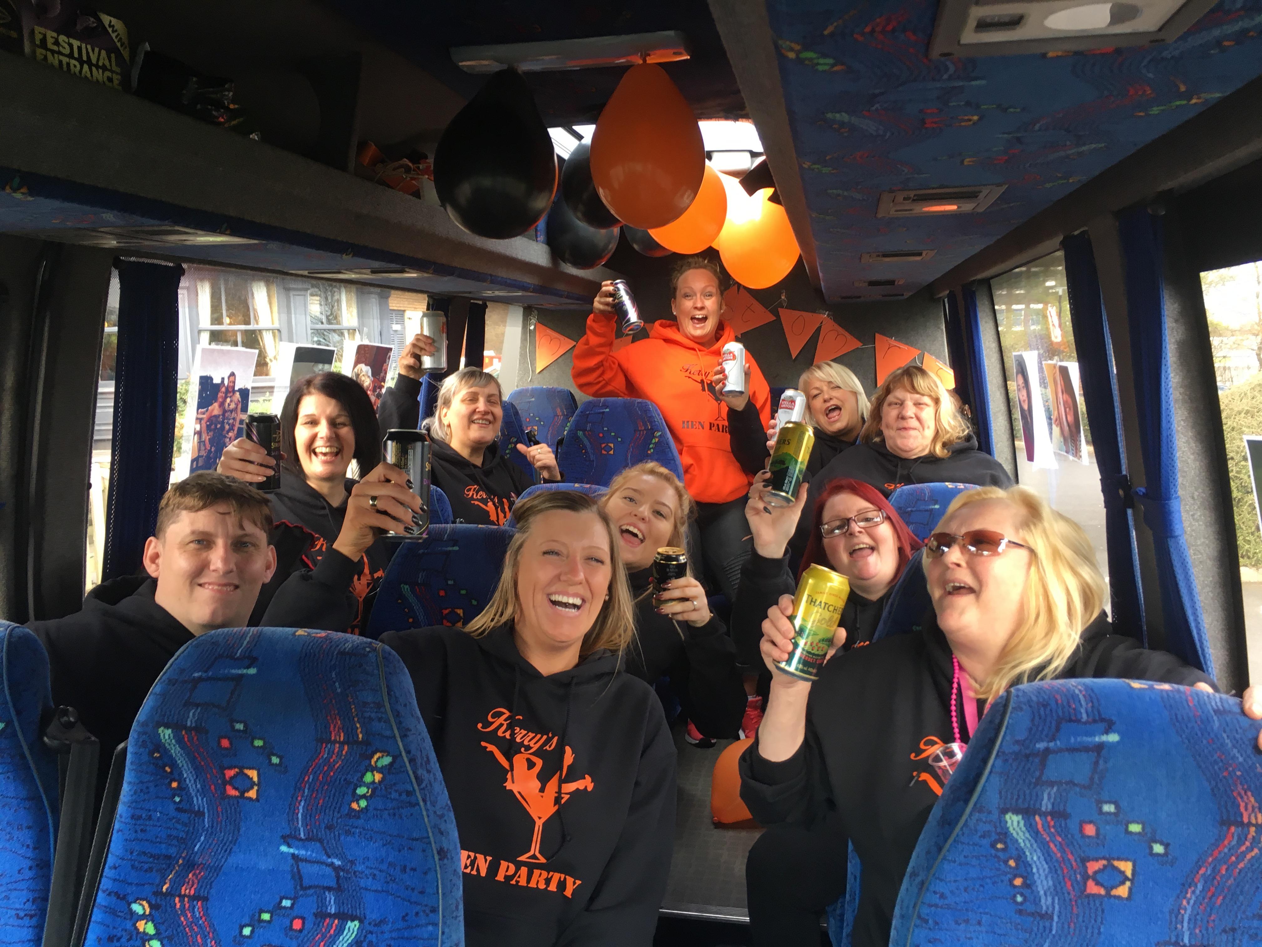 coach hire minibus to newcastle