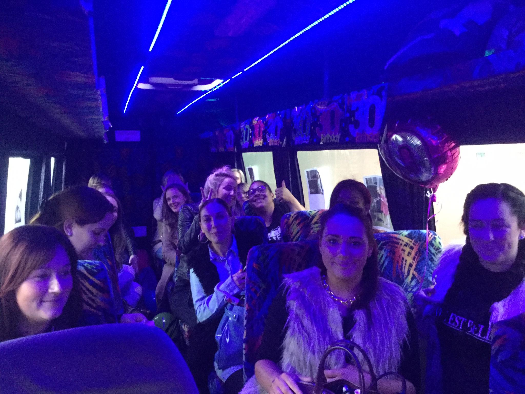 minibus birthday travel