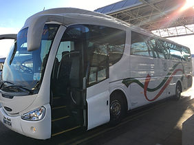 iveco coach, executive coach hire dudley