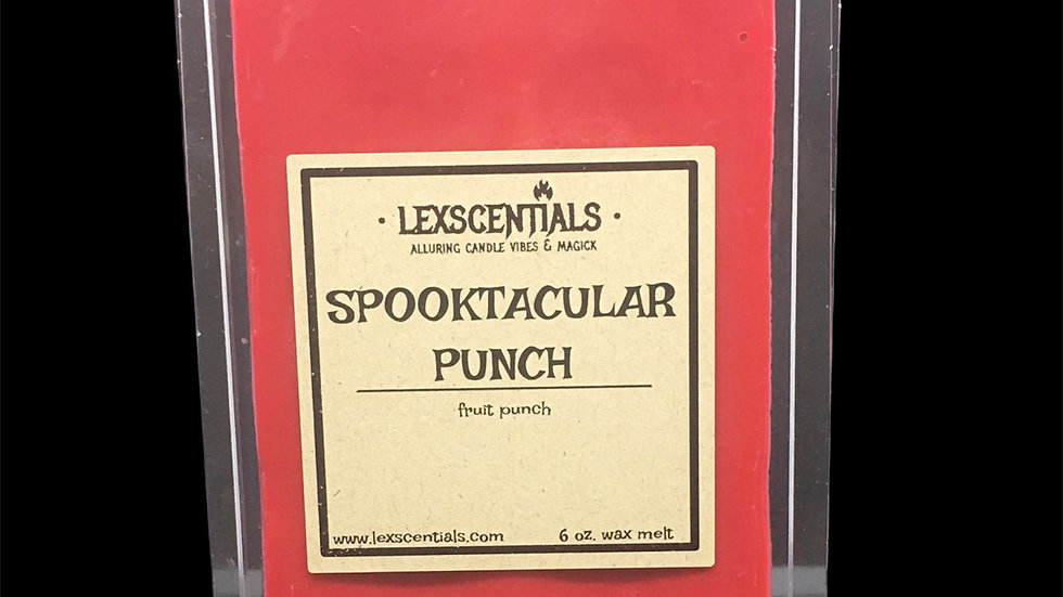 Spooktacular Punch Wax Melt