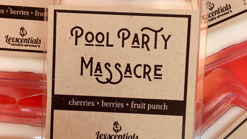 Pool Party Massacre wax melt