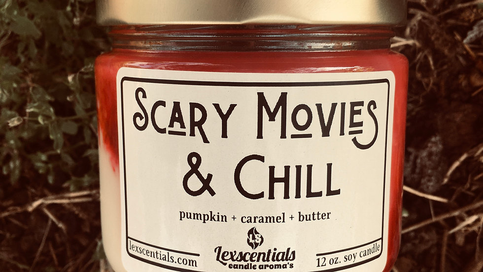 Scary Movies & Chill Candle
