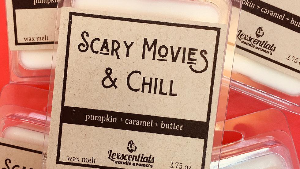 Scary movies & chill Wax Melt