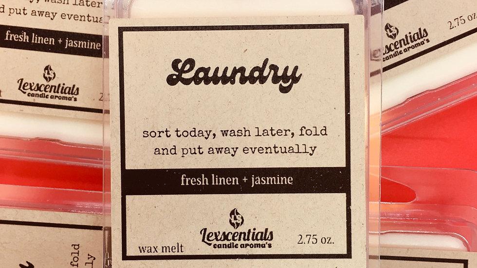Laundry wax melt