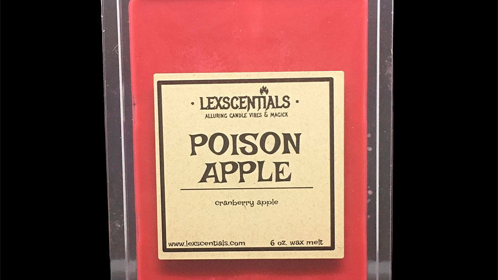 Poison Apple Wax Melt