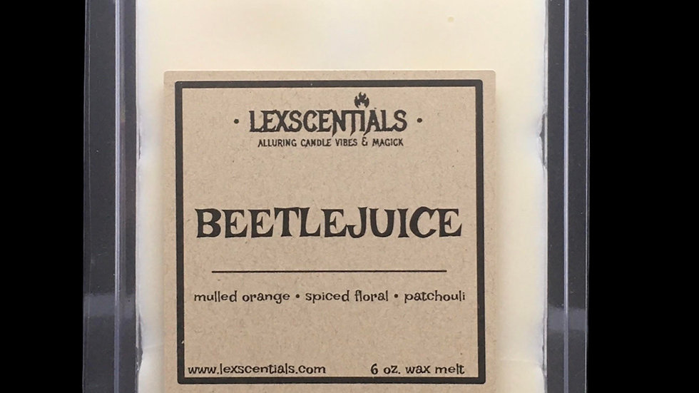 Beetlejuice Wax Melt